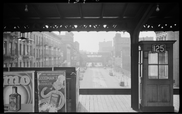 125th Street Second Avenue Elevated Station-circa 1940