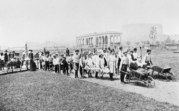 Jefferson Park circa 1911