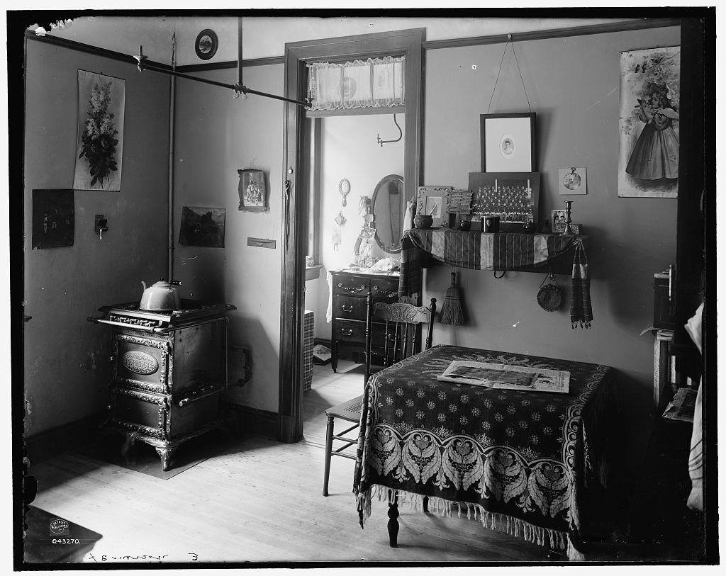 Tenement Interior- Circa 1900-1910