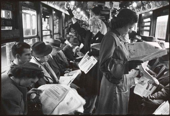 Subway Travel in the 1940's
