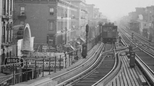 Second Avenue Elevated-125th Street-1940