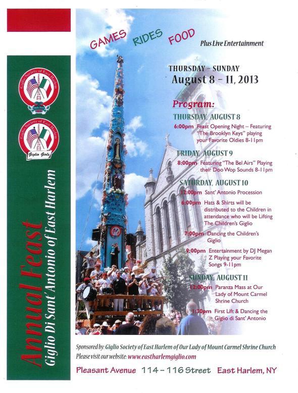 Festa di Giglio of EH-2013