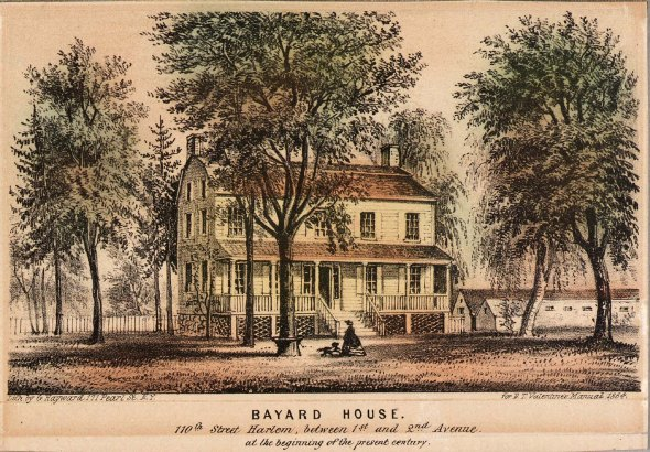 Bayard House 110th 1800
