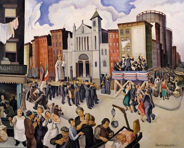 Festa di Monte Carmela, by Daniel Celentano 1934