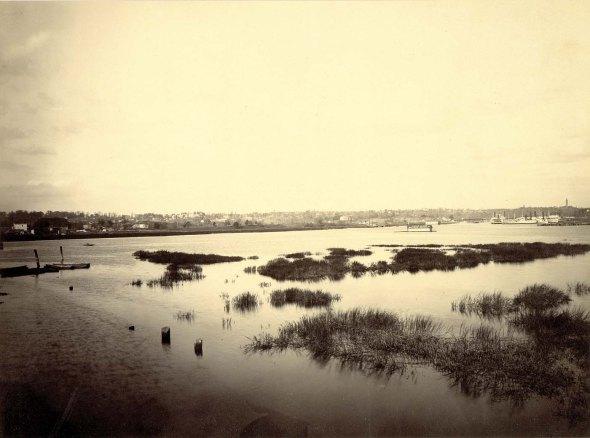 Harlem River c.1875 smithsonian