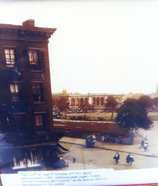 Jeff Park White House Pavilion circa 1905