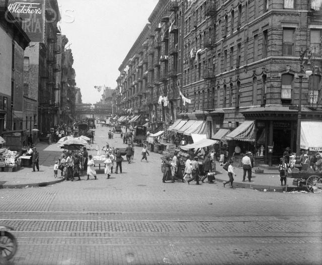 Street Scene in East Harlem