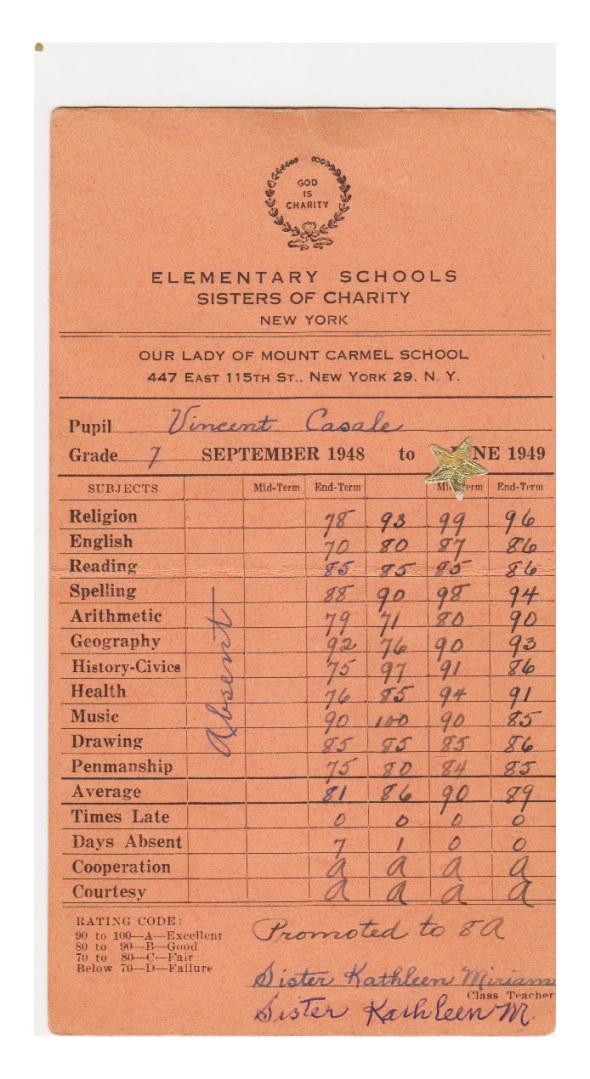 Olmc report card
